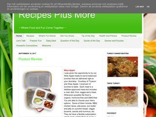 Recipes Plus More