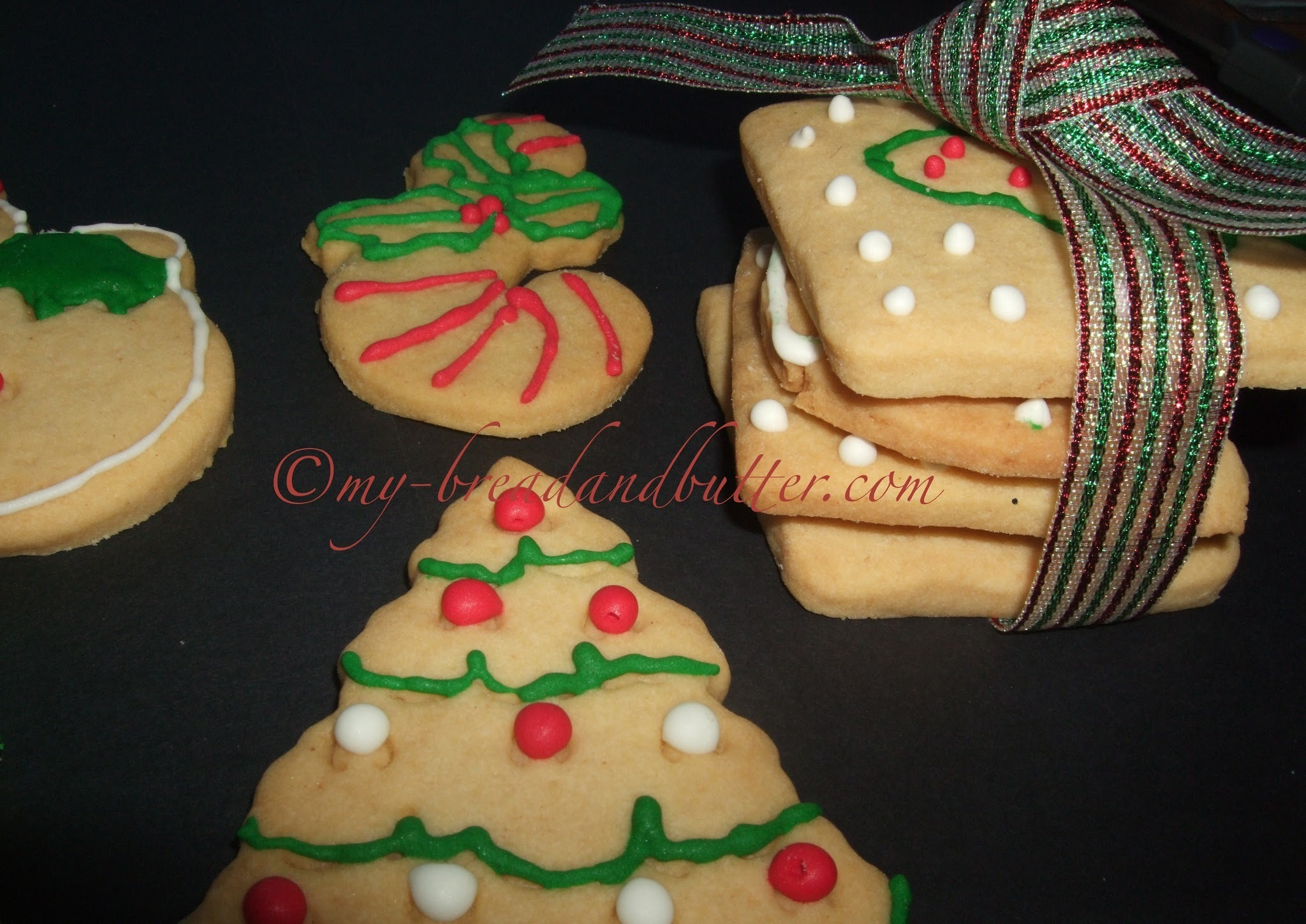 My first Christmas cookies and my greetings for you!!!