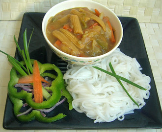 Vegetables in Pineapple Sauce - Chinese Style