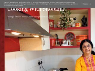 Cooking With Shobana