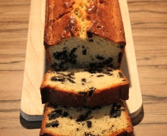 Cookie and Cream Pound Cake alias Oreo Cake