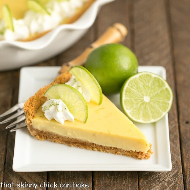 Key Lime Pie with Graham Cracker Crust