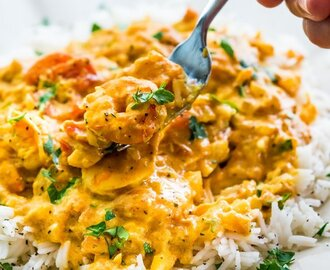 Coconut Shrimp Curry