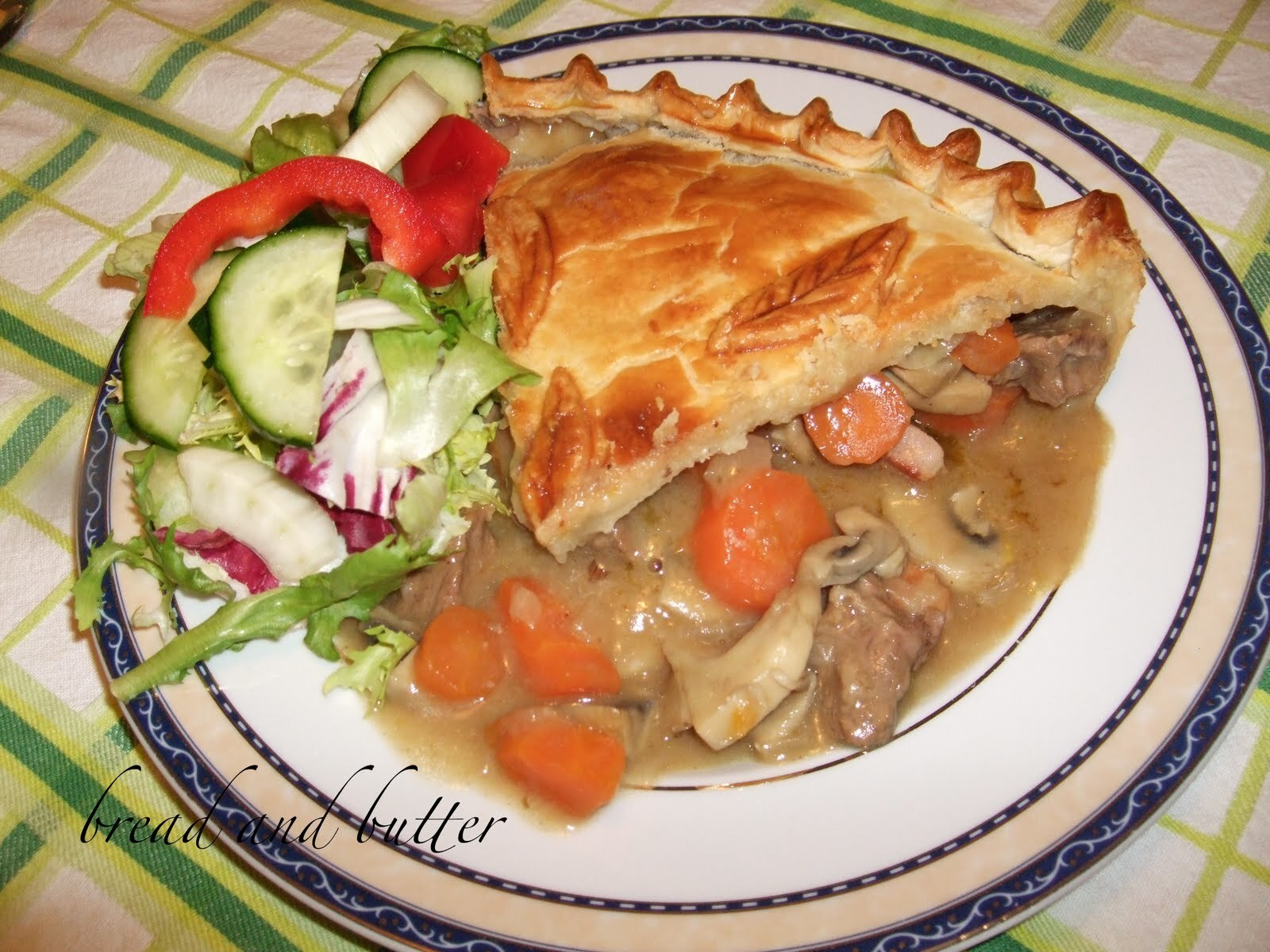 Beef, Ale and mushrooms pie!!!!