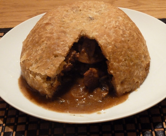 Beef Suet Pudding - A British Winter Classic