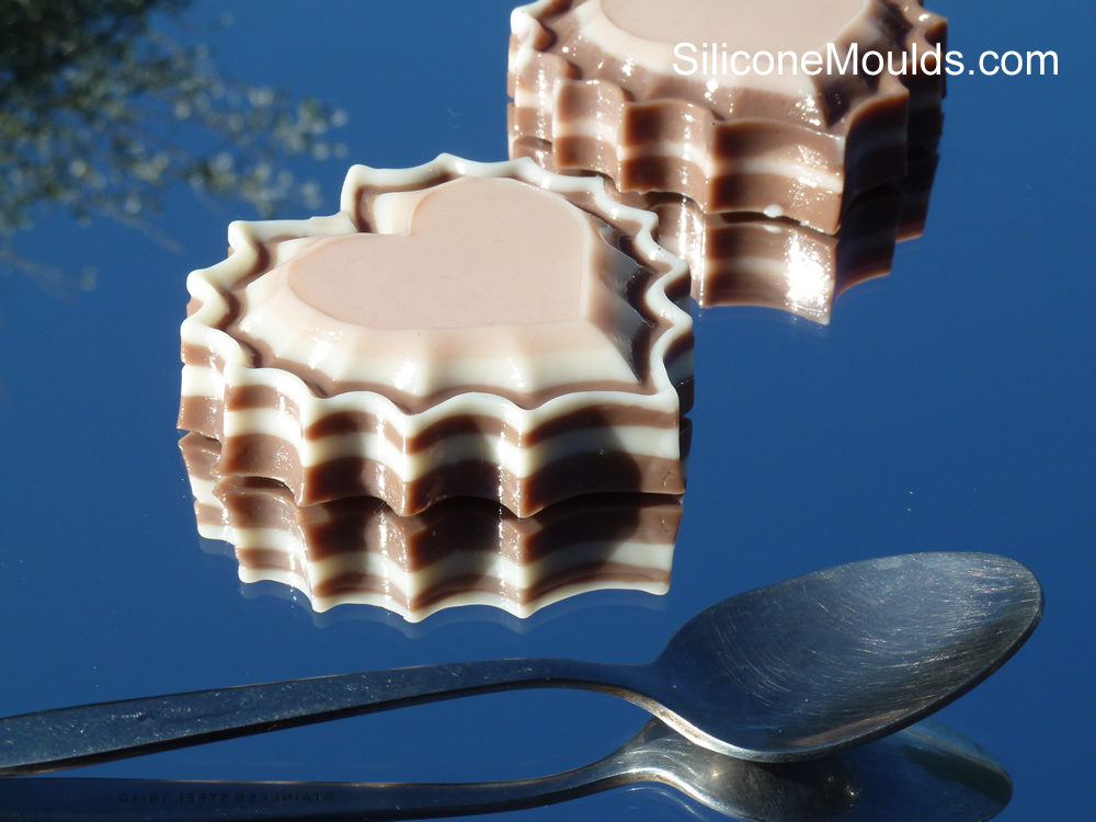 Neapolitan Jellies - done my way ! (Foodbuzz #5 19/9/11)