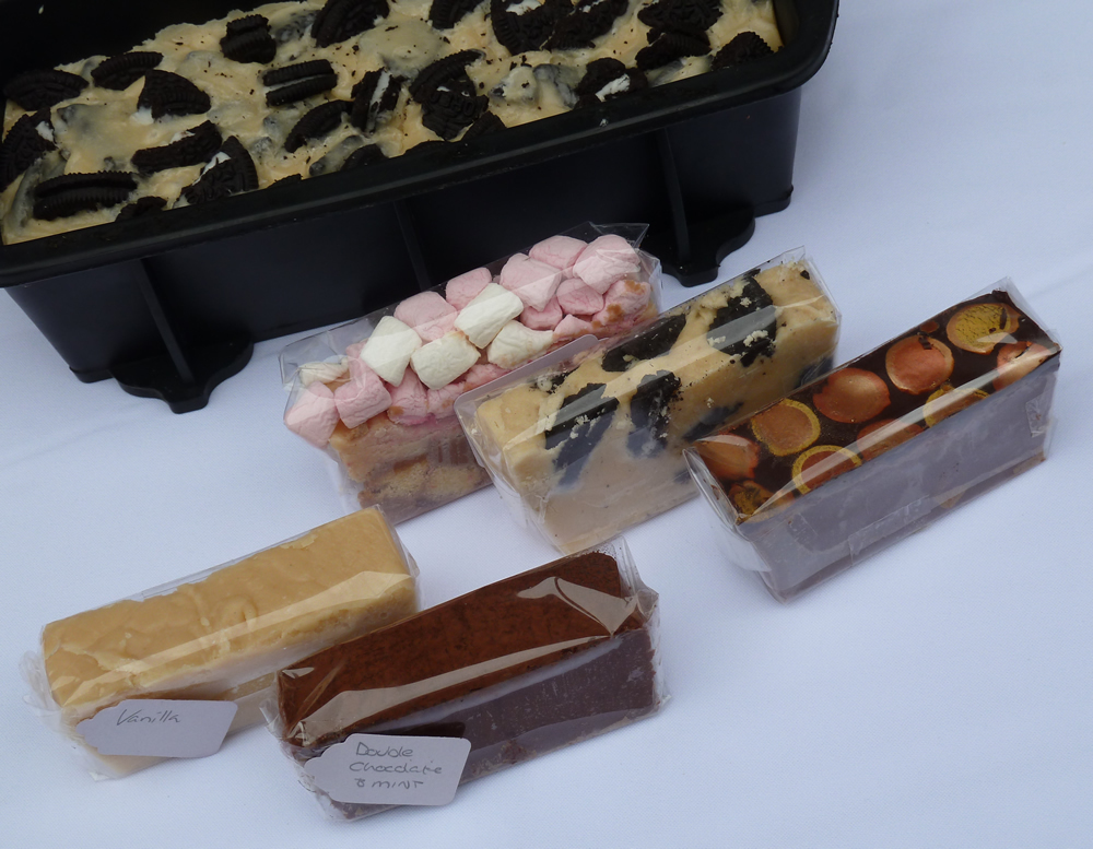 Five Fabulous Fudge Flavours