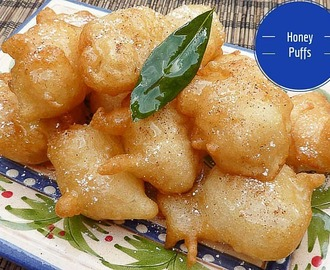 Honey Puffs Recipe to Celebrate Paniyiri 2016 – Yassou!