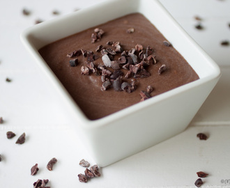 Healthy choco mousse