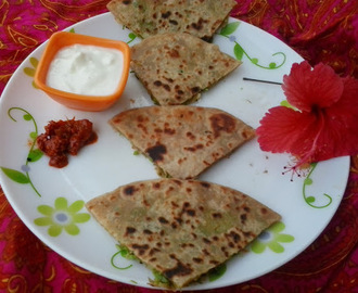 Matar Paratha |stuffed green peas parantha |stuffed paratha recipe