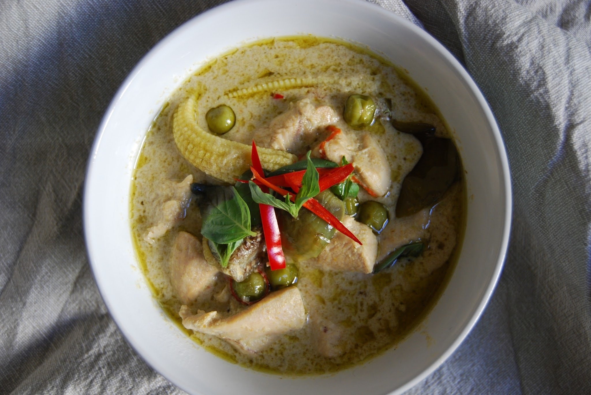 Spicy Fall Soup: Thai Green Curry...