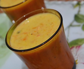 "Carrot Rice Kheer - My 12th guest post for ""The Flavorista"""