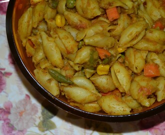 Vegetable Macaroni Biriyani