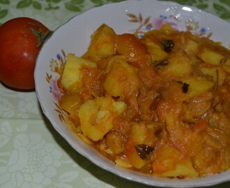 Potato Tomato Masala