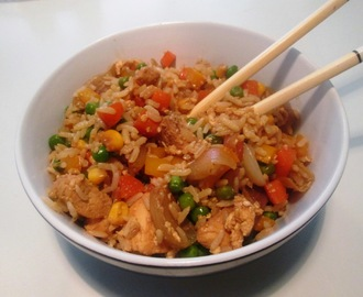 Fried Rice med Kylling