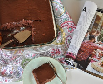 Thermomix Chocolate Sheet Cake