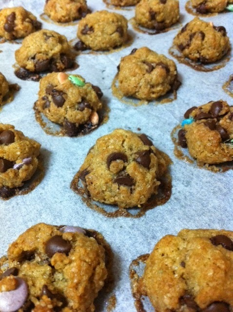 Increibles Chocolate Chips Cookies