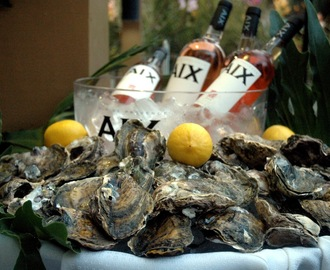 Wine Nights and Oyster Hours with AIX Rose at Via Mare