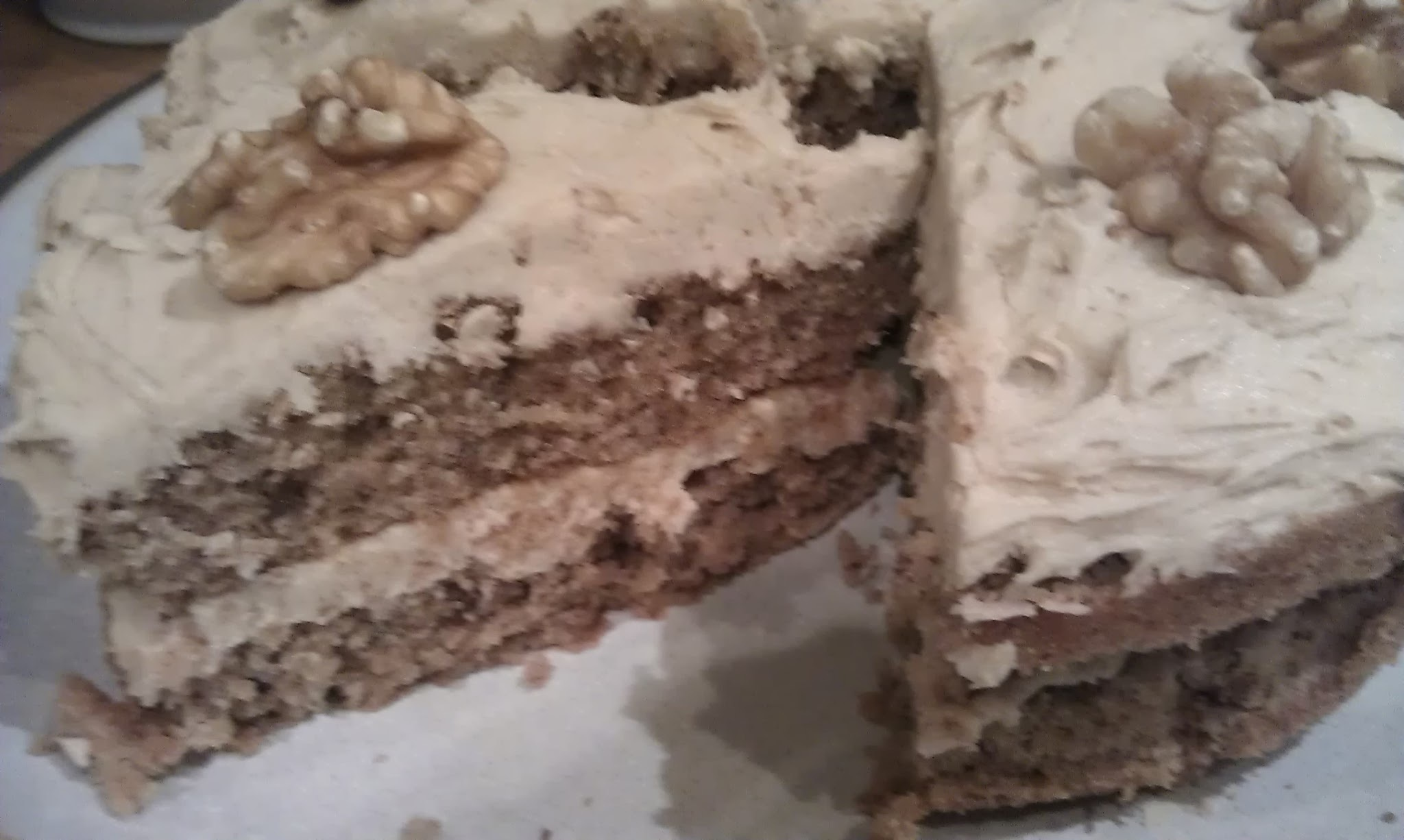 Recipe 22 - Coffee & Walnut Sponge Cake