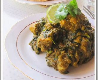 Meethi Chicken. (Fenugreek Leaves And Chicken Curry)