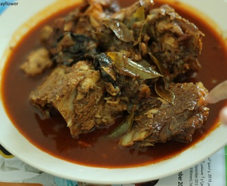Meen thala curry / Fish head in spicy gravy