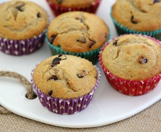 Thermomix Banana Chocolate Chip Muffins