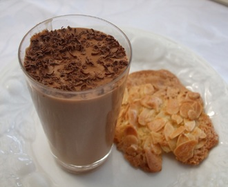 Missing France! Chocolate Mousse with Orange Florentines