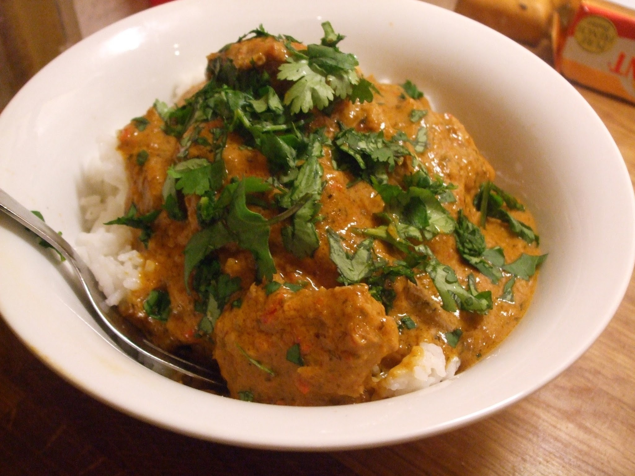 Thai - rrific: Nigel Slater's Coconut chilli (or chili) chicken