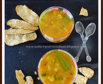 Pineapple Rasam / Indian Style Sweet and Spice Pineapple Soup