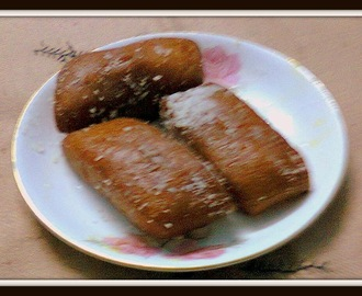 Fried Coconut Sweet / Chitrakut / Bengali Coconut Sweet