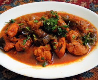 Kodi Pulusu( Andhra Chicken Curry)