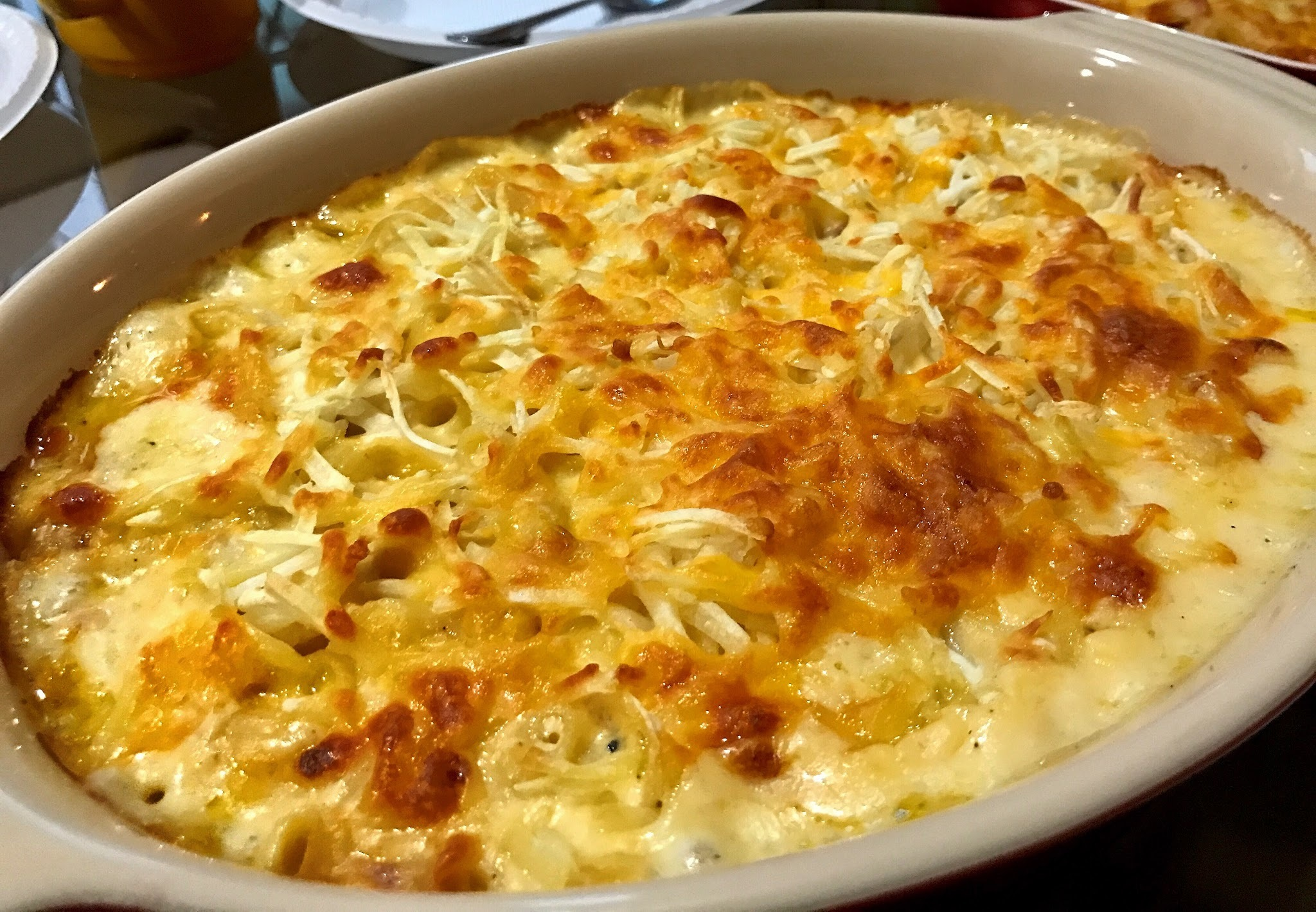 Breakfast Mac and Cheese