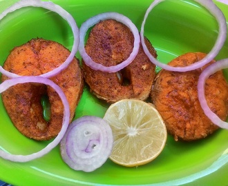 Neymeen fish fry, how to make Neymeen fish fry, Spicy Neymeen fish