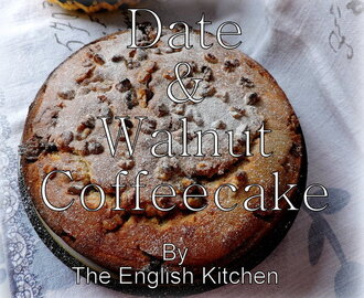 Date & Walnut Coffee Cake