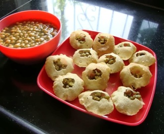 Pani Puri Recipe - Make Pani Puri at Home