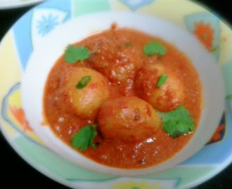 Baby potato gravy |Spicy Baby Potatoes Yogurt Gravy sanjeev kapoor recipe