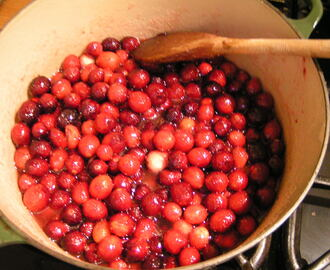 What?! More cranberries? Cranberry Jam & possibly a Bakewell Tart