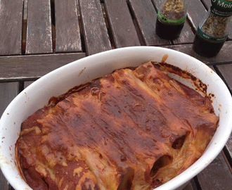 Meatless Monday - Cannelloni de seitan e acelgas.