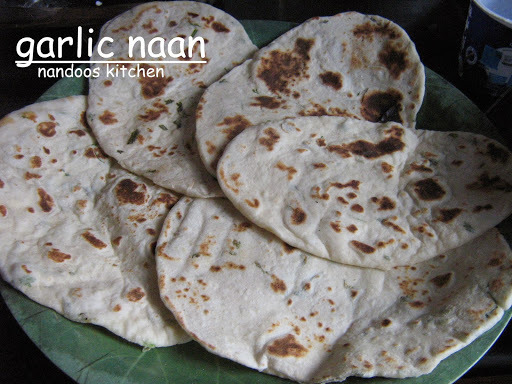 Garlic Naan / Indian flat bread