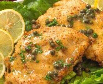 Chicken Piccata With Bread Salad Recipe