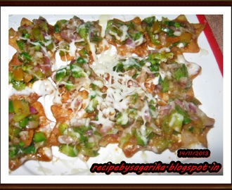 SUPER NACHOS WITH SALSA N CHEESE SAUCE (SIMPLY RECIPE)
