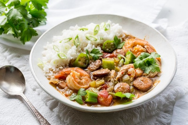 Chicken, Sausage & Shrimp Gumbo