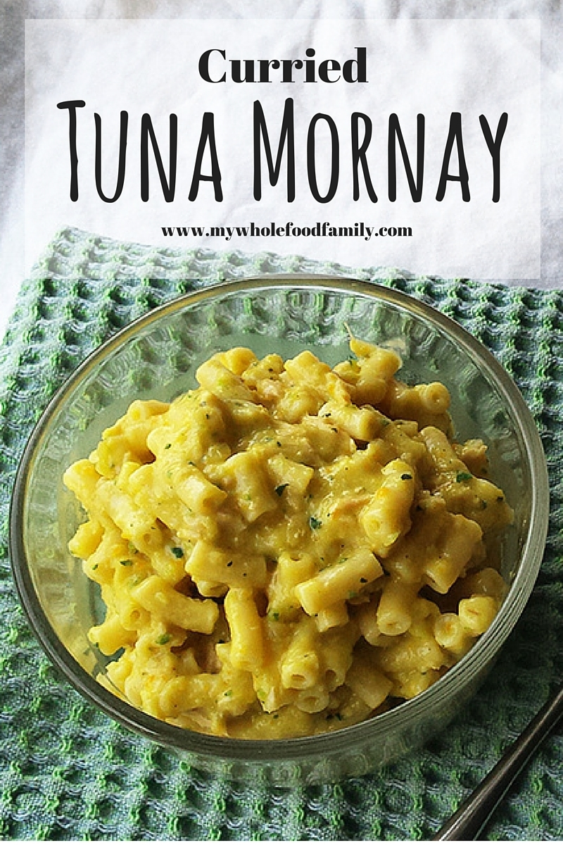 Curried Tuna Mornay (and how to choose the best tuna!)
