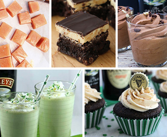 50+ Dessert Recipes with Bailey's Irish Cream