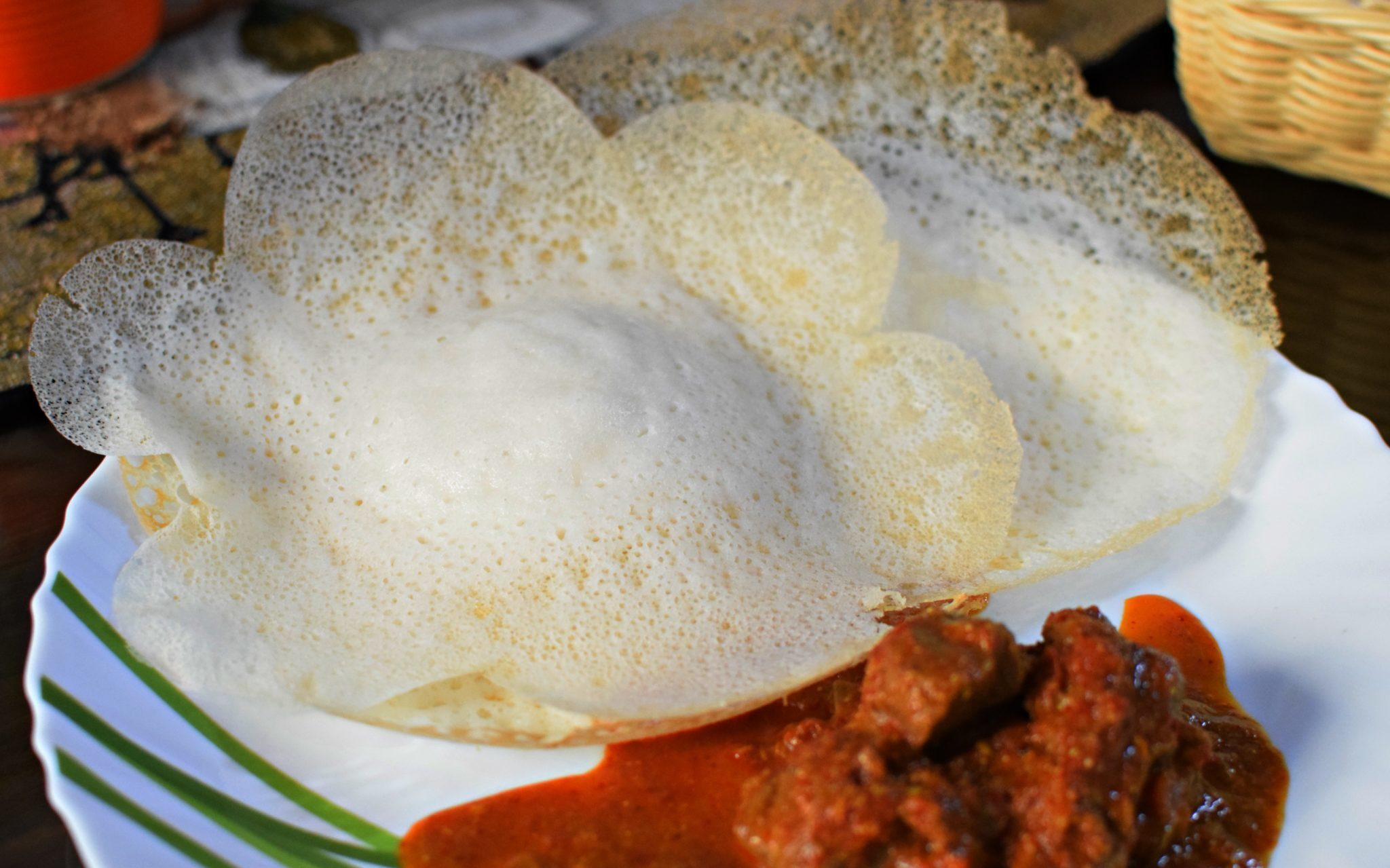 Appam/Vellayappam/Paalappam using Rice Powder