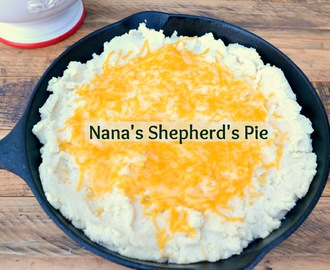Nana's Shepherd's Pie  #StPatricksDay