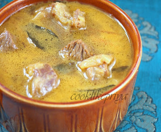 Mutton Soup | Amma's Recipe | South Indian Style Mutton Soup