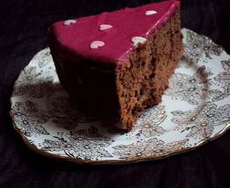 Choco Beet Cake ~ Thanksgiving Special & 100'th post