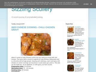 Sizzling Scullery