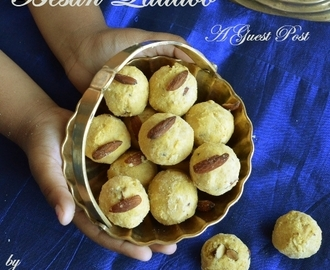 Besan Laddoo ~ A sweet guest post by Divya Prakash